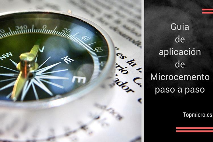 Aplicación de microcemento paso a paso
