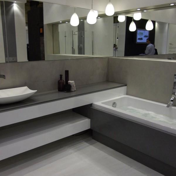 Baños de Microcemento en grises