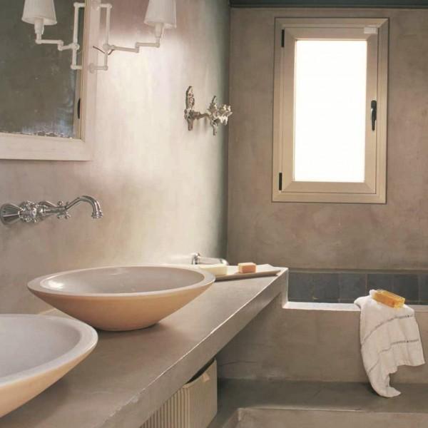 Baños de microcemento integral