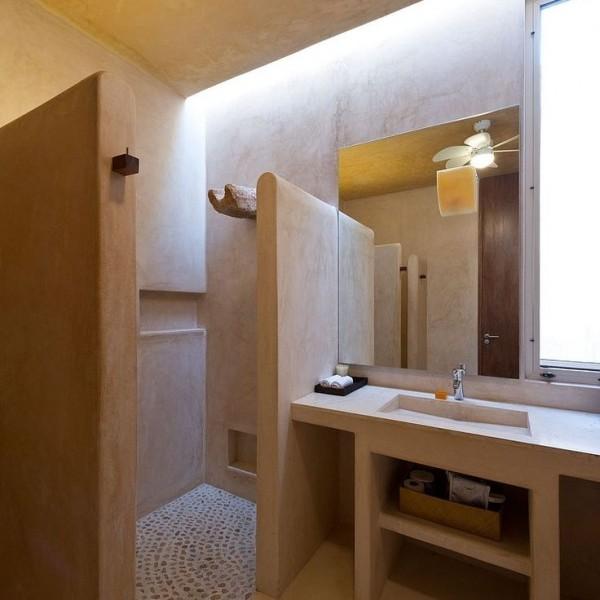 Baños de microcemento completo