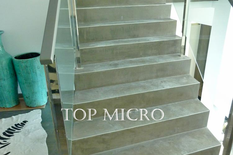Escaleras de microcemento topmicro