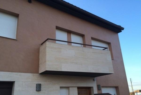 Microecemento para exterior en fachada